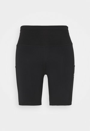 EPIC LUXE SHORT - Legging - black/moke grey