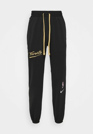 NBA TORONTO RAPTORS CITY EDITION THERMAFLEX PANT - Klubtrøjer - black/club gold/white