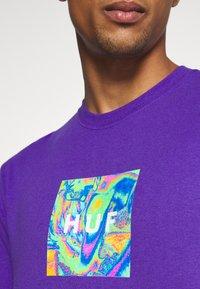 HUF - ACID HOUSE TEE - Long sleeved top - purple - 4