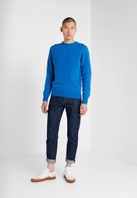 YMC You Must Create - SUEDEHEAD CREW - Maglione - blue - 1