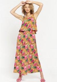 LolaLiza - TROPICAL - Maxi dress - yellow - 0