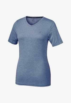 Basic T-shirt - blue-bell mel