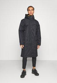 adidas Performance - ATHLETICS TECH SPORTS RELAXED JACKET - Training jacket - black - 0