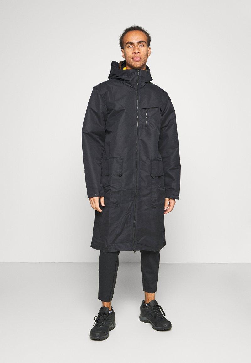 adidas Performance - ATHLETICS TECH SPORTS RELAXED JACKET - Training jacket - black
