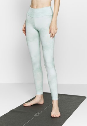 LEGGINGS TIE DYE MINT - Leggings - mint
