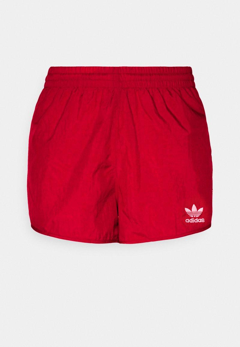 adidas Originals - 3 STRIPES ADICOLORSHORTS - Shorts - scarlet