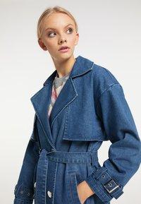 myMo - Trenchcoat - blau denim - 3