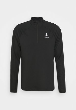 MIDLAYER 1/2 ZIP ESSENTIAL - Sports shirt - black
