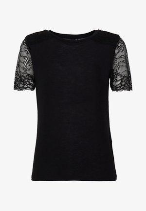 VMHONEY  - Print T-shirt - black