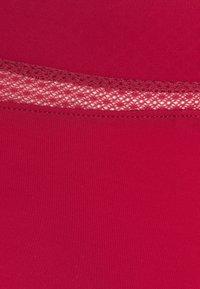 Calvin Klein Underwear - PERFECTLY FLEX THONG - Stringit - deep sea rose - 2
