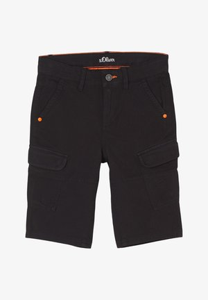 SLIM FIT - Shorts - black