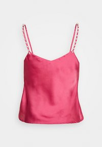 Lost Ink - PEARL STRAP CAMI - Blouse - pink - 1