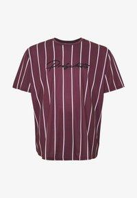 Projekts NYC - HARROW SIGNATURE IN CAMO - T-shirt con stampa - burgundy - 4