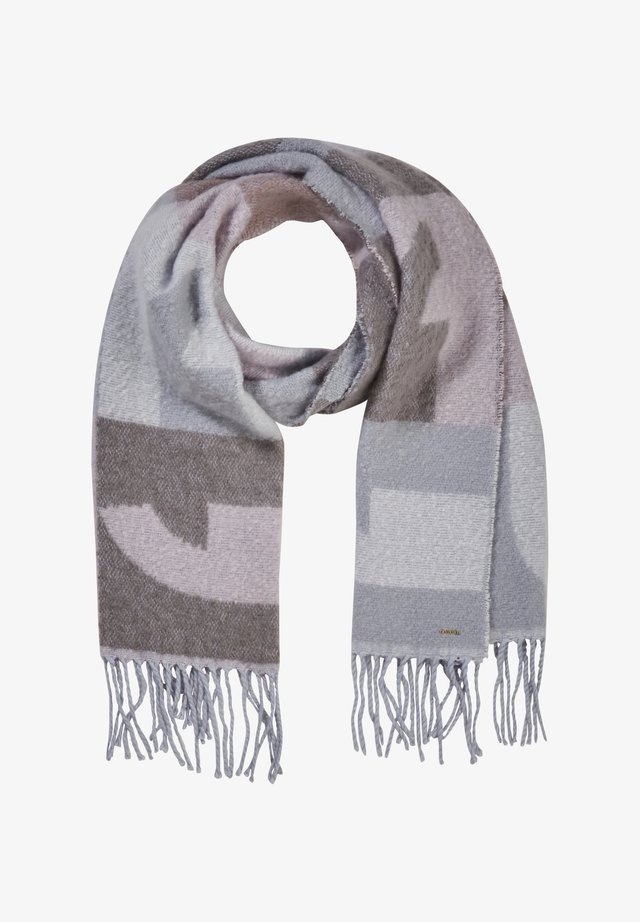 MIT WEBMUSTER - Scarf - ivory letters