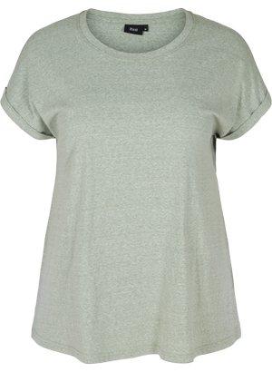 VAVA - Basic T-shirt - green