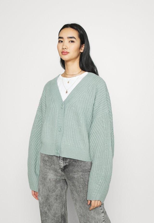 ELI  - Kardigan - green/turqouise