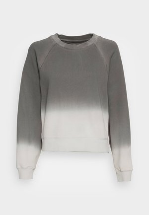 LONG RAGLAN SLEEVE ROUND NECK DIP DYE - Sweatshirt - combo jersey