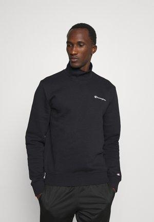 MOCK TURTLE NECK LONG SLEEVES - Sweatshirt - black