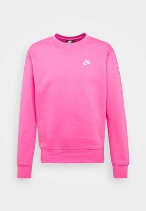 CLUB - Sweatshirt - pinksicle/white