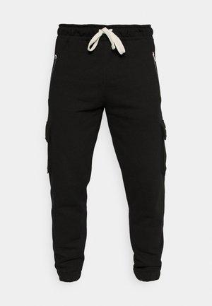 HEAVY CARGO UNISEX - Pantalon de survêtement - black