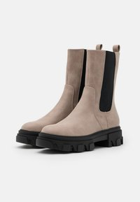 Even&Odd - Platform ankle boots - taupe - 2
