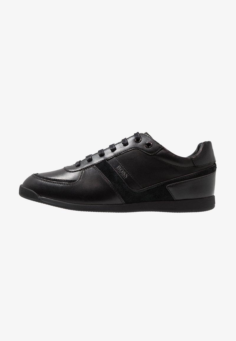 BOSS - GLAZE - Sneakers laag - black