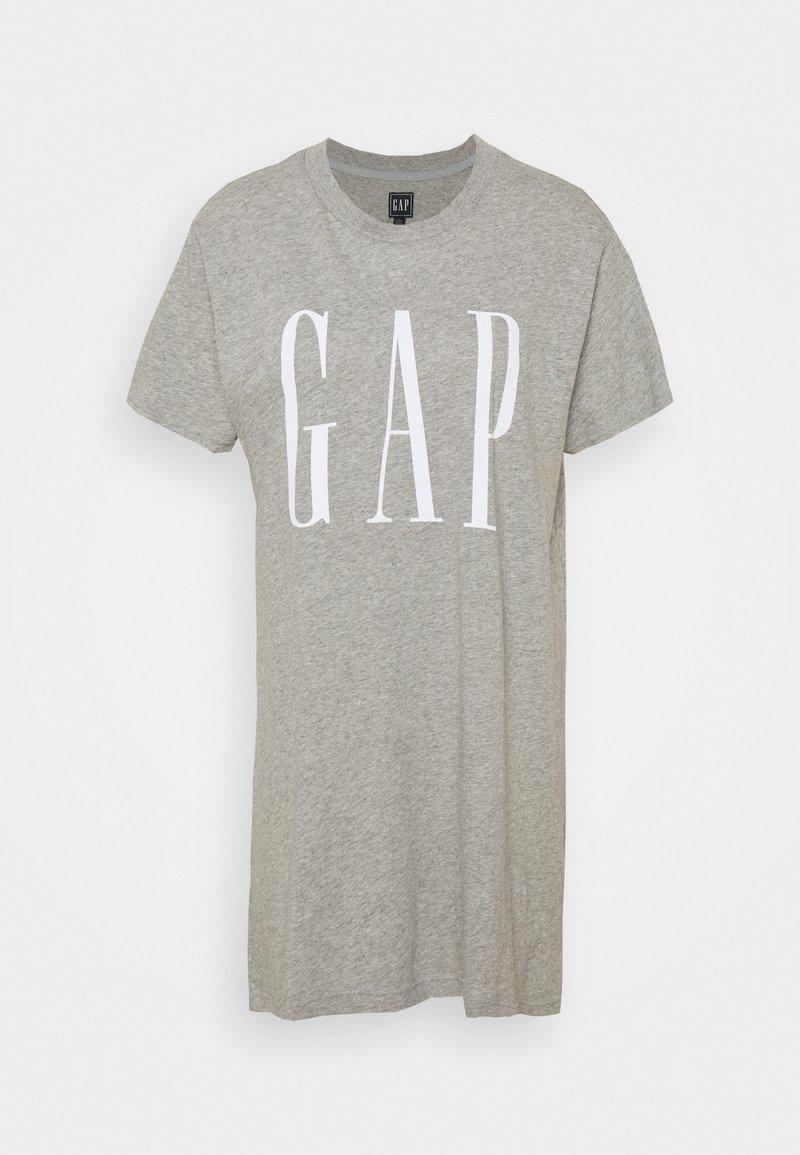 GAP Petite - DRESS - Jersey dress - grey heather
