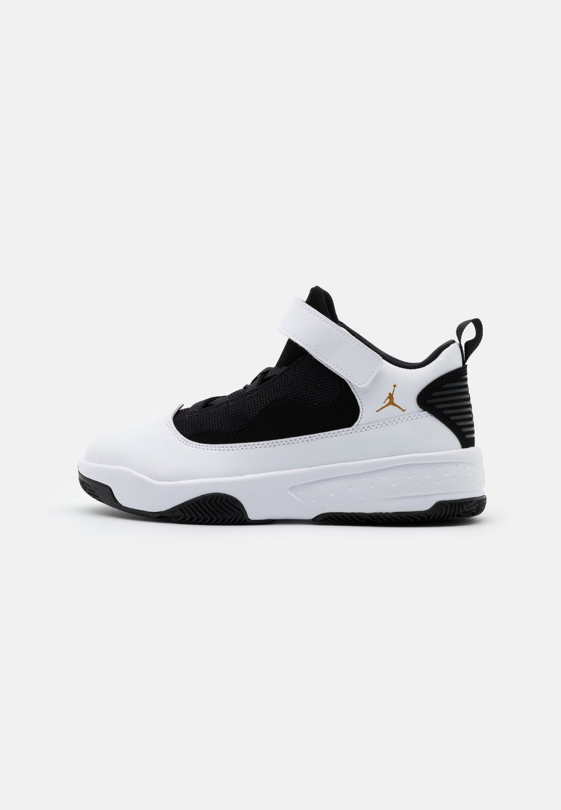 Jordan - MAX AURA 2 - Basketbalové boty - white/metallic gold/black