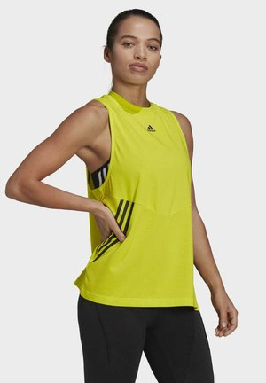 OVERSIZED PRIMEBLUE SPORTS TANK TOP - Top - yellow