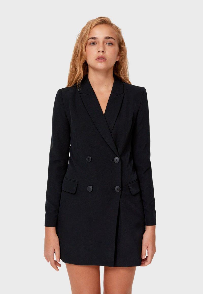Stradivarius - Short coat - black