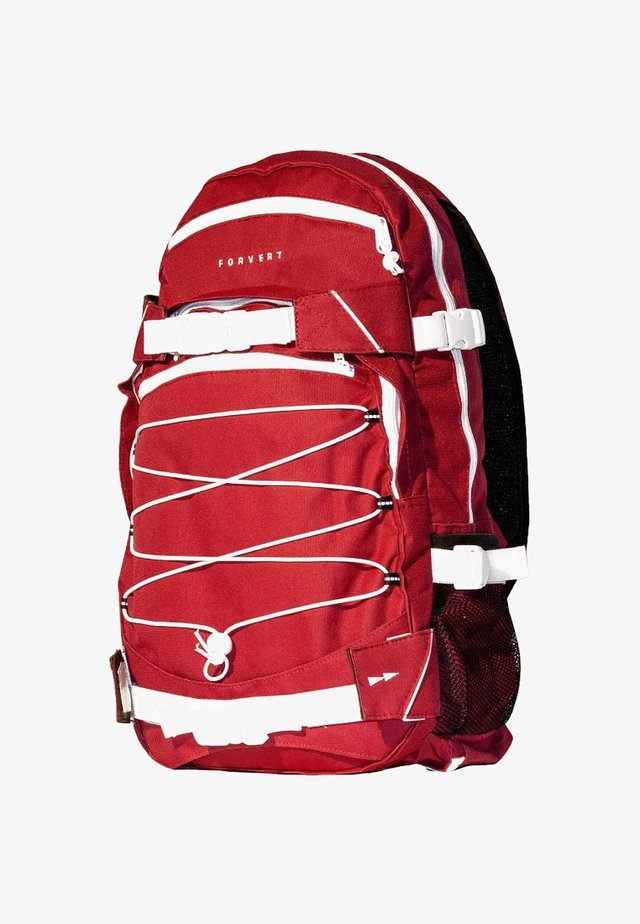 ICE LOUIS - Rucksack - red/white