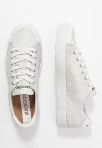 Blackstone - Sneakers - metallic silver - 3