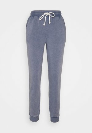 BOYFRIEND PRINT - Tracksuit bottoms - blue
