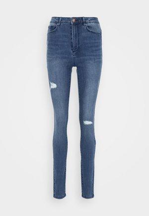 VMSOPHIA TALL SKINNY - Jeans Skinny Fit - medium blue denim