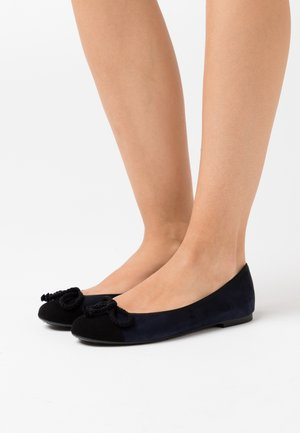 ANGELIS - Ballerines - navy blue