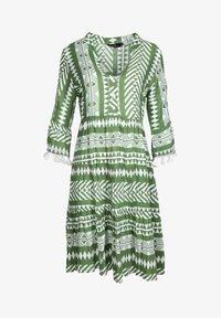 Zwillingsherz - Day dress - khaki - 2