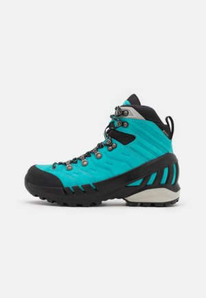 CYCLONE S GTX - Hiking shoes - ceramic/gray