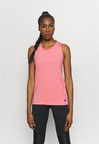 adidas Performance - T-shirt de sport - light pink - 0