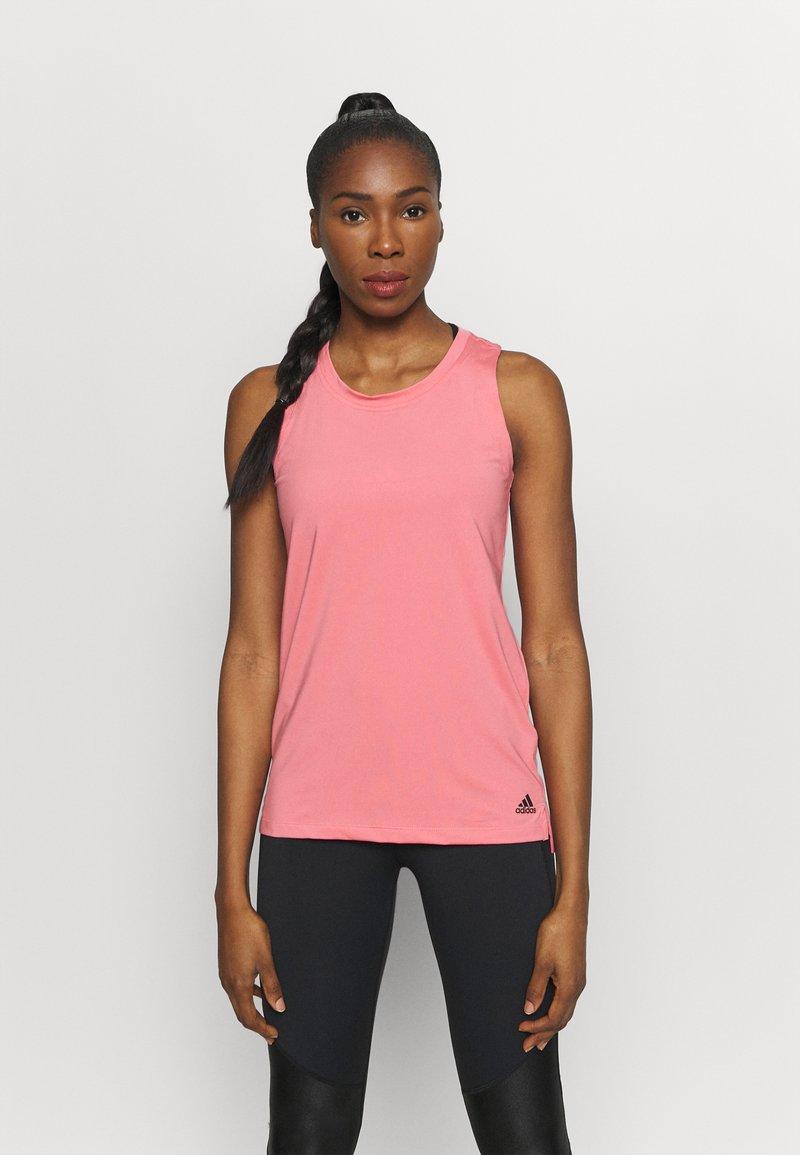 adidas Performance - T-shirt de sport - light pink