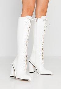 BEBO - JESSIE - High heeled boots - white - 0