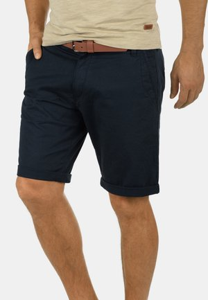 CHINOSHORTS MONTIJO - Shorts - blue