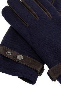 Bugatti - Gloves - navy/choco - 3