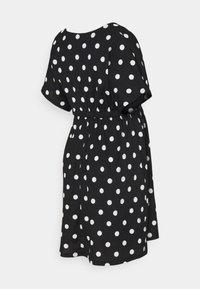 LOVE2WAIT - DRESS NURSING DOTS - Day dress - black - 1