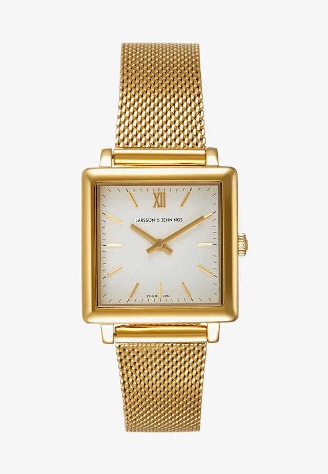 NORSE - Montre - gold-coloured/white