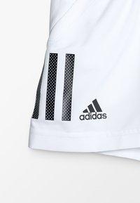 adidas Performance - CLUB SHORT - Sportovní kraťasy - white/black - 4