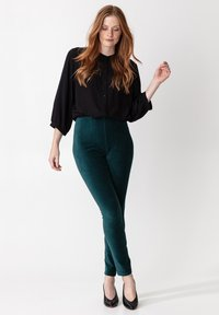 Indiska - Leggings - Trousers - petrol - 1