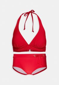 Bruno Banani - TRIANGLE SET - Bikini - red - 3