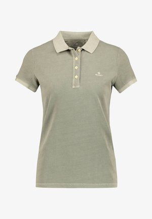SUNFADED  RUGGER - Polo shirt - grün