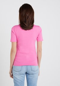 J.CREW - CREWNECK ELBOW SLEEVE - Basic T-shirt - intense pink - 2