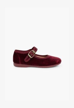 Zapatos de bebé - burdeos